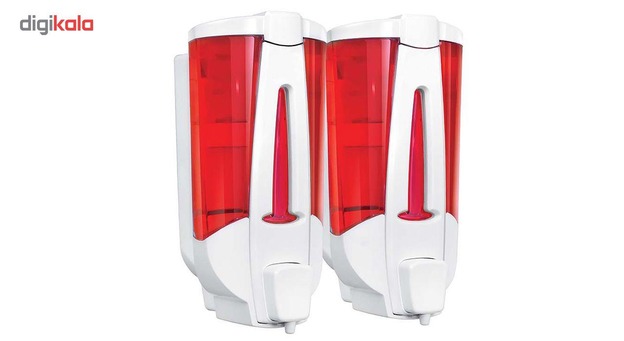 پمپ مایع دستشویی دو قلو ایمن آب مدل VENICE main 1 1