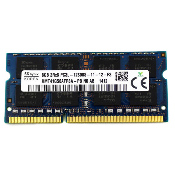 رم لپ تاپ اس کی هاینیکس مدل 1600 DDR3L PC3L 12800S MHz ظرفیت 8 گیگابایت | SKhynix DDR3L PC3L 12800s MHz 1600 RAM 8GB