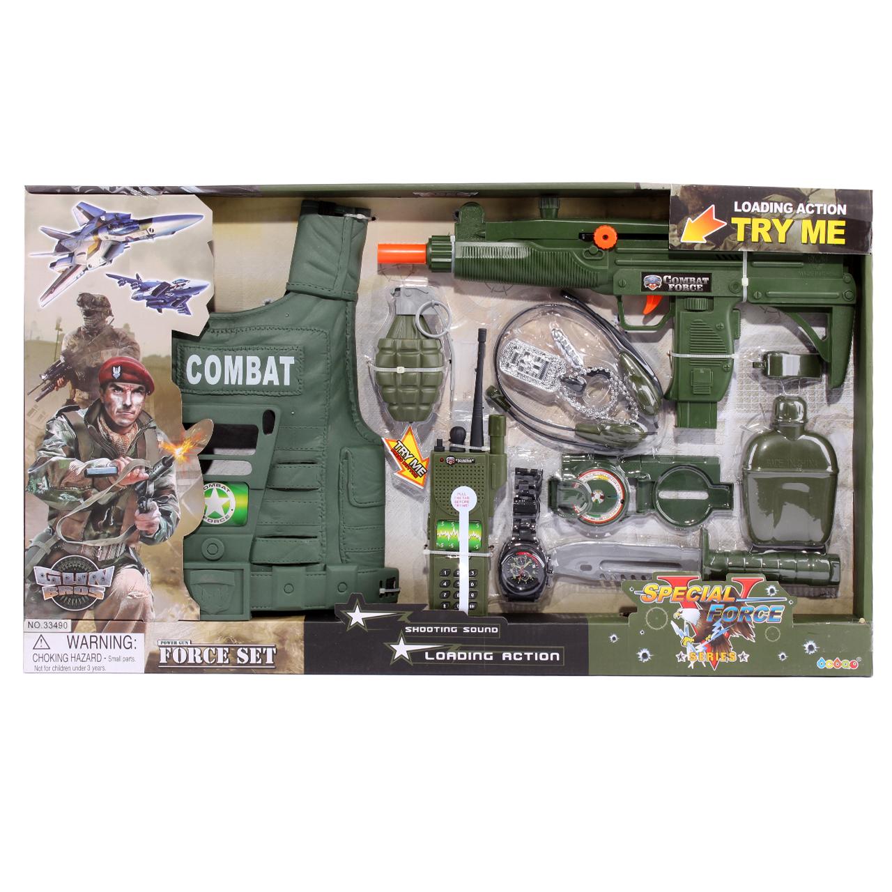 تفنگ اسباب بازی مدل 8688 Special Force Series