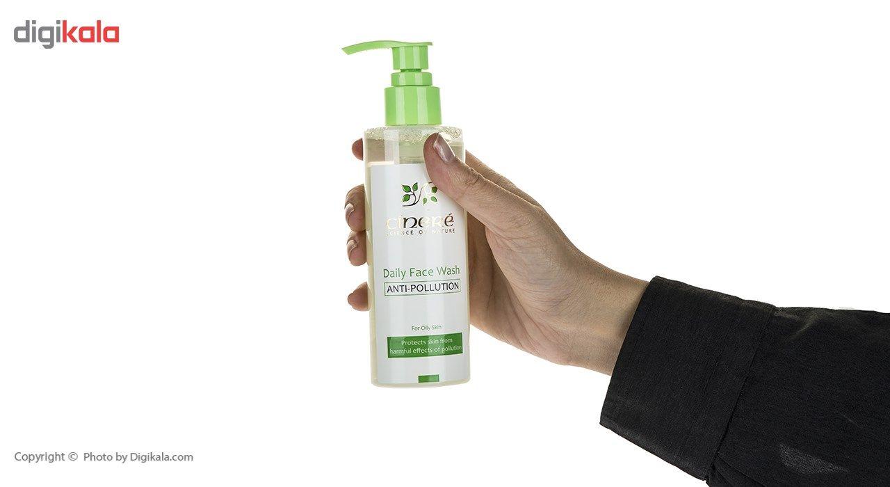 ژل شست و شوی صورت ضد آلودگی سینره مدل Oily Skin حجم 200 میلی لیتر main 1 3