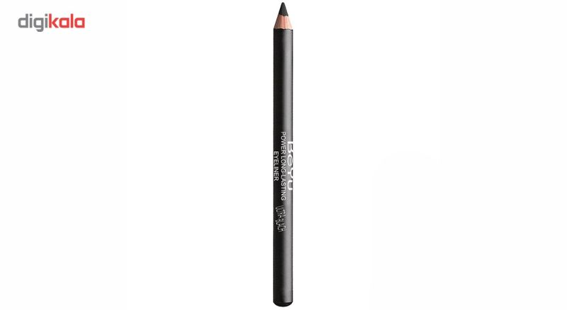 مداد چشم بی یو مدل Power Long Lasting Ultra Black