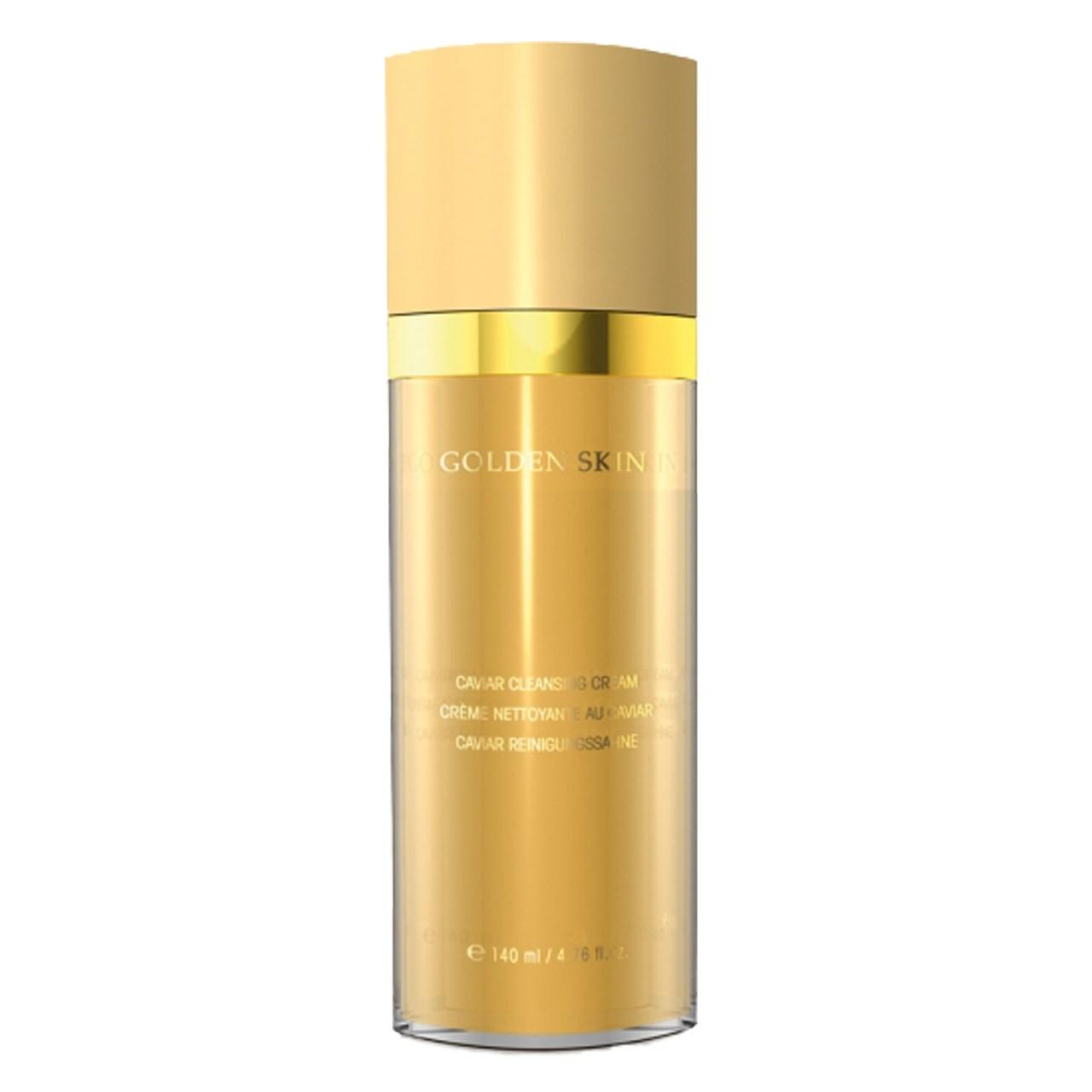 کرم پاک کننده صورت اتق بل سری Golden Skin کد 3290 حجم140 میلی لیتر