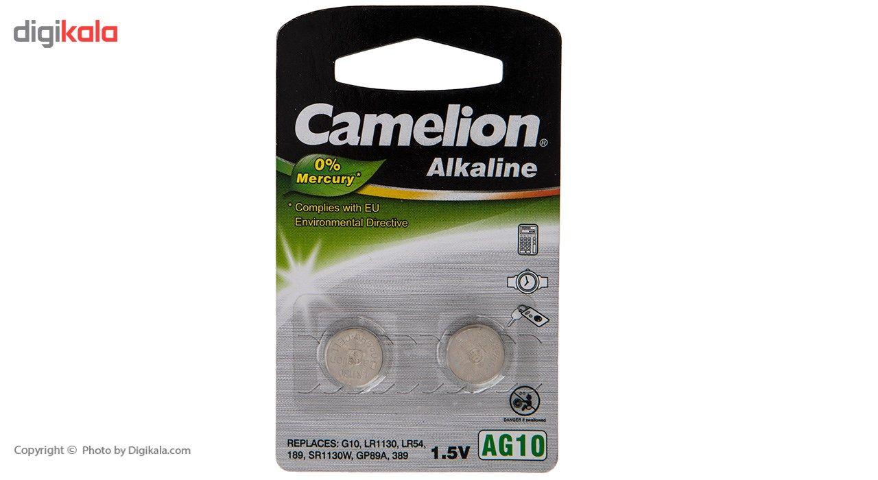 باتری سکه ای کملیون مدل AG10 بسته 2 تایی main 1 1
