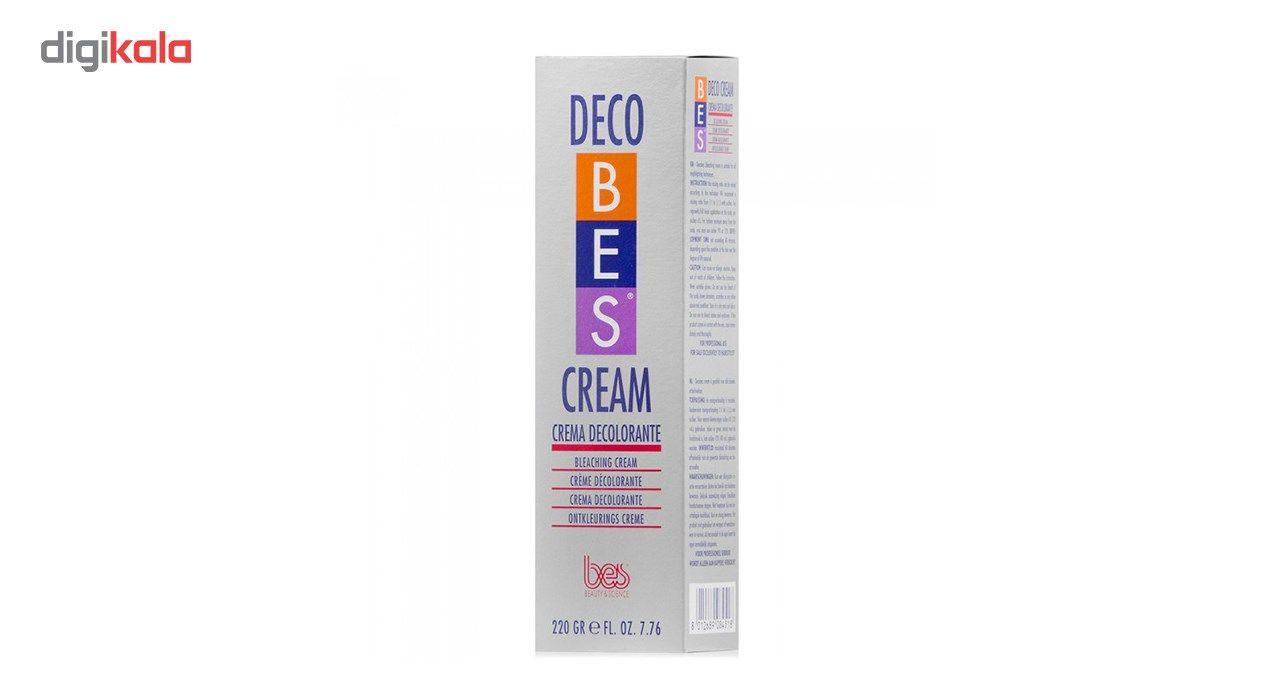 کرم دکلره بی رنگ کننده بس مدل Deco حجم 220  گرم -  - 3