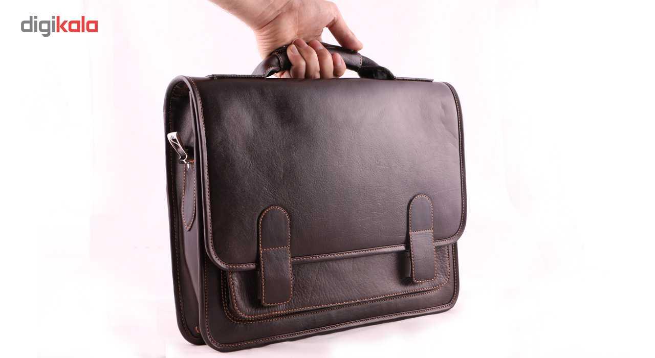کیف اداری چرم ما مدل 01