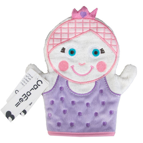 لیف حمام کودک کارامل مدل ملکه