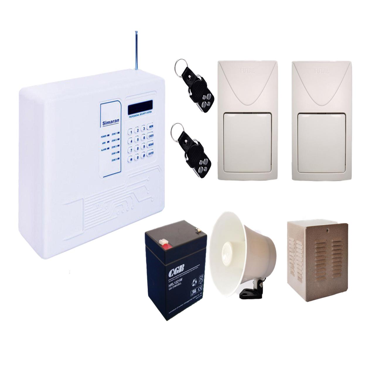 سیستم دزدگیر سیم کارتی سیماران مدل DS2S