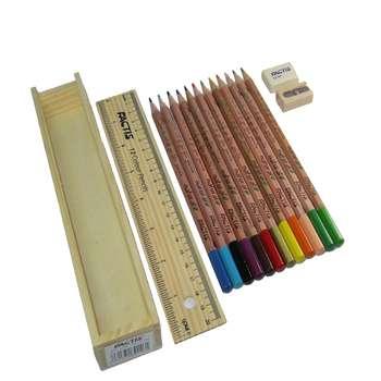 مداد رنگی 12 رنگ فکتیس مدل Natural
