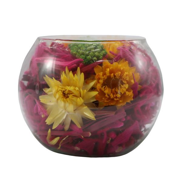 گلدان دکوری معطر گلباران سبز مدل GMG-01