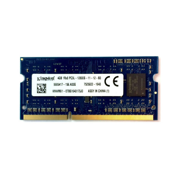 رم لپ تاپ کینگستون مدل 1600 DDR3L PC3L 12800S MHz ظرفیت 4 گیگابایت | Kingston DDR3L PC3L 12800s MHz 1600 RAM 4GB