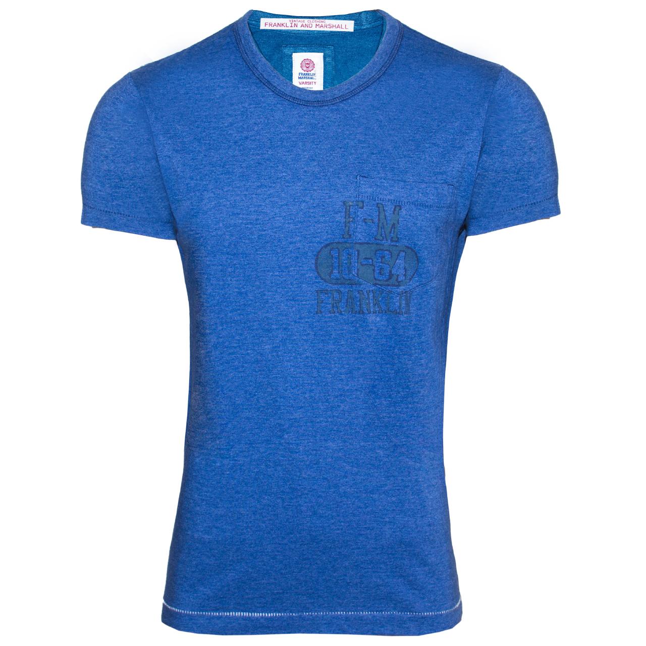 قیمت تی شرت مردانه فرانکلین مارشال مدل جرزی کد 123D