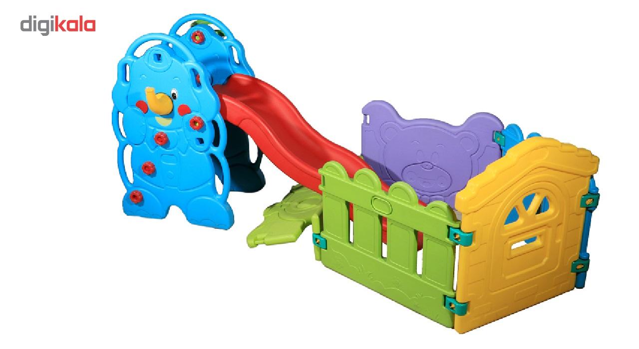 استخر توپ و سرسره فیل پارسیان تویز مدل Ball Pool and Elephand Swing