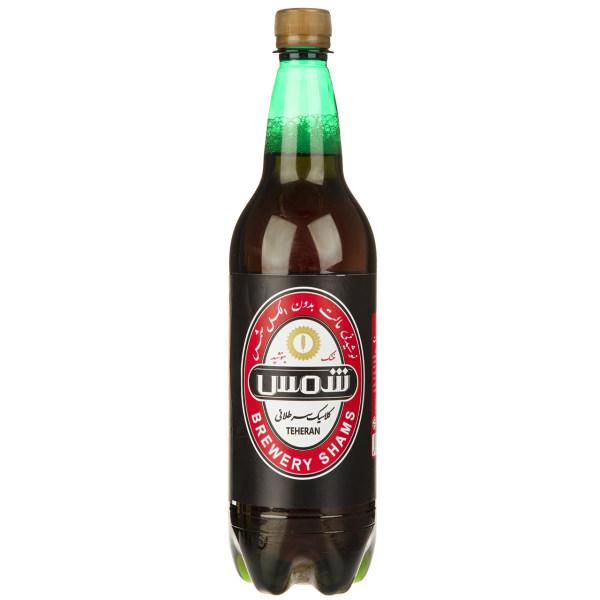 نوشیدنی مالت بدون الکل شمس مقدار 1 لیتر