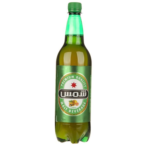 نوشیدنی مالت بدون الکل با طعم استوایی شمس مقدار 1 لیتر