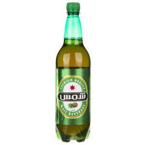 نوشیدنی مالت بدون الکل با طعم آناناس شمس مقدار 1 لیتر
