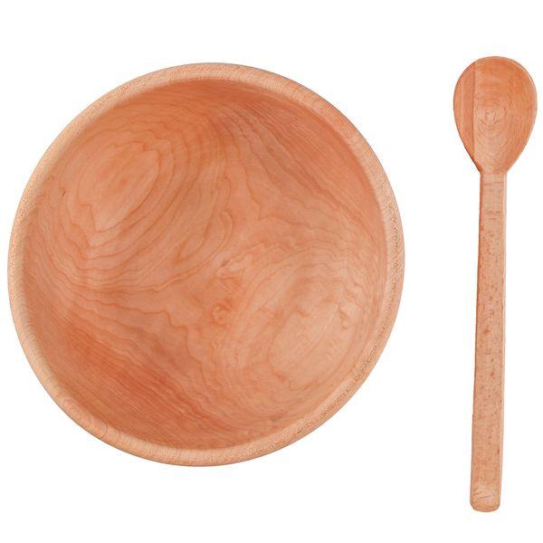 ست کاسه و قاشق چوبی گالری گیل چو کد 217016