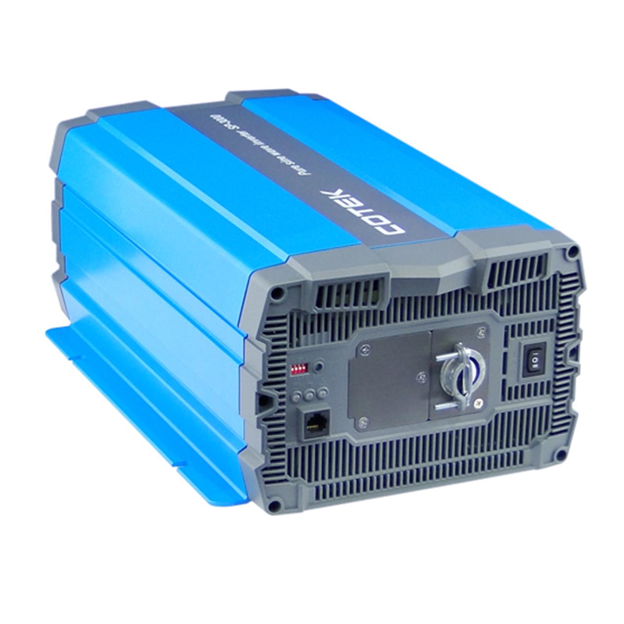 مبدل برق اینورتر سینوسی کوتک تایوان مدل 24V-TO-220V-3000W