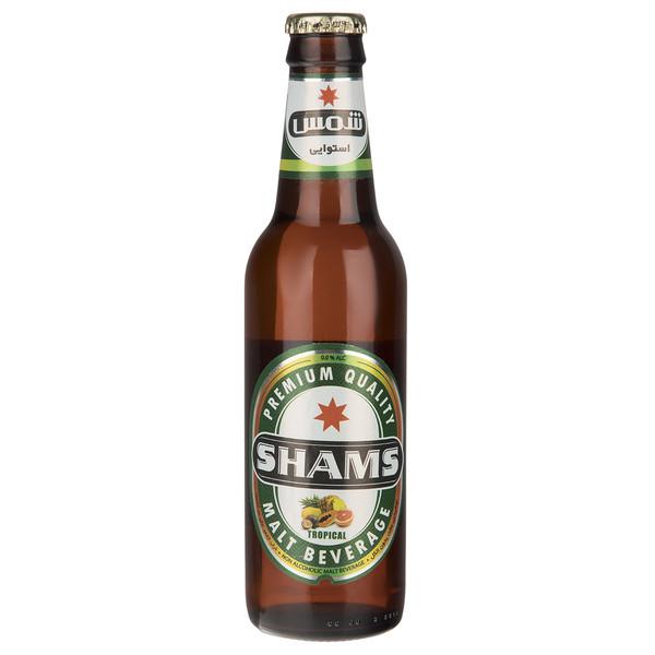 نوشیدنی مالت بدون الکل با طعم استوایی شمس مقدار 0.32 لیتر