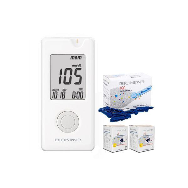 تست قند خون بایونیم مدل GM110 | Bionime GM110 Blood glucose monitor