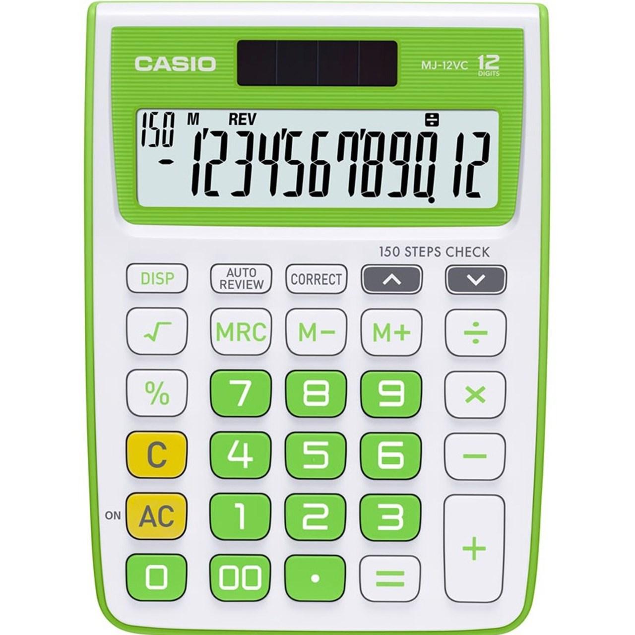 قیمت                      ماشین حساب کاسیو مدل MJ-12VC