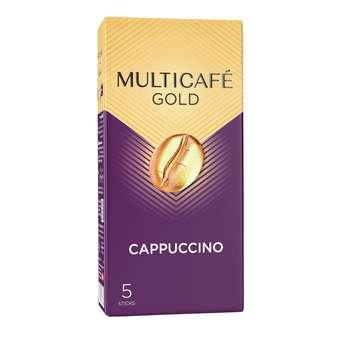 کاپوچینو گلد مولتی کافه بسته 5 عددی