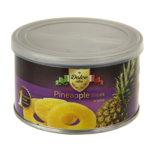 کمپوت آناناس با برش حلقه ای دلچه چپبو  مقدار 227 گرم