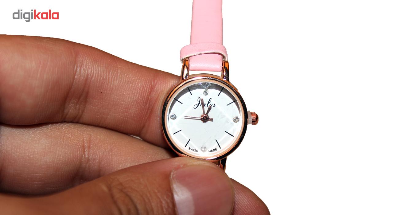 ساعت مچی عقربه ای زنانه مسترپرتر مدل  Swiss Time