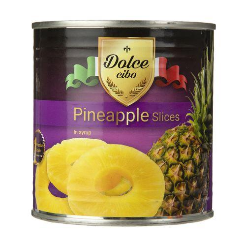 کمپوت آناناس با برش حلقه ای دلچه چپبو  مقدار 425 گرم