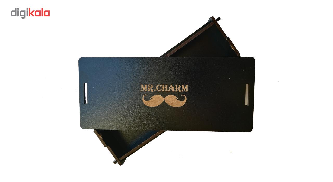 جاسوئیچی خودرو چرم طبیعی آقای چرم مدل 2610 مناسب برای هیوندا سانتافه