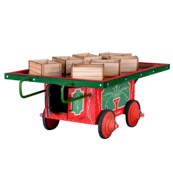 چرخ طافی دکوری سنتی کالا مدل جعبه دار