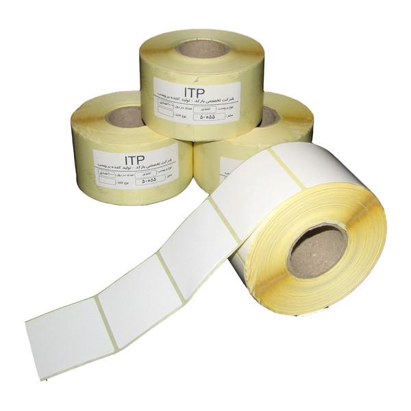 برچسب پرینتر لیبل زن آی تی پی مدل ITP5055/1 دوازده رول 1000 عددی