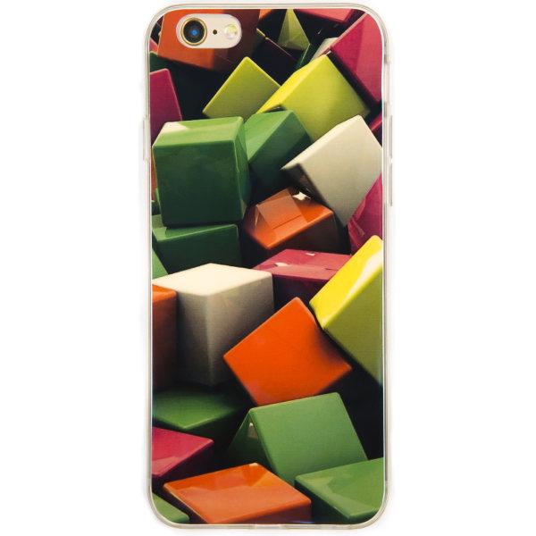 کاورژله ای مدل Cube مناسب برای گوشی موبایل آیفون 6plus