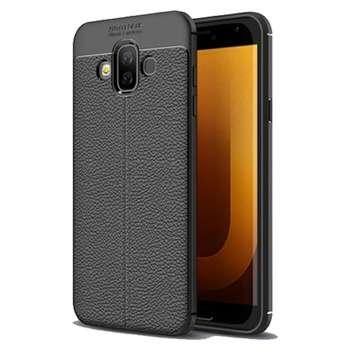 کاور طرح چرم اتوفوکوس مدل Ultimate Experience مناسب برای گوشی موبایل سامسونگ J7 Duo