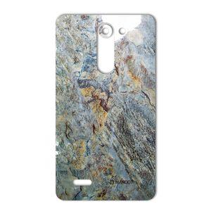 برچسب تزئینی ماهوت مدل Marble-vein-cut Special مناسب برای گوشی  LG L Bello