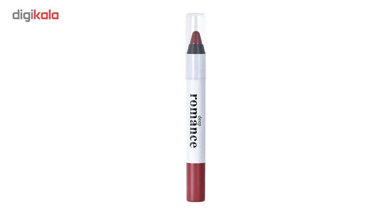 رژ لب مدادی دیپ رومانس مدل DR-10 شماره 207 main 1 2