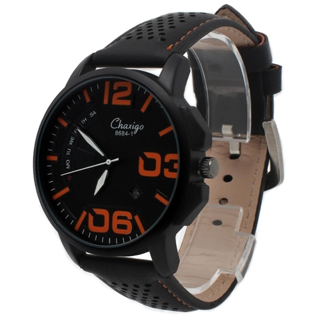 ساعت مچی عقربه ای مردانه چاکسیگو مدل 4-8684