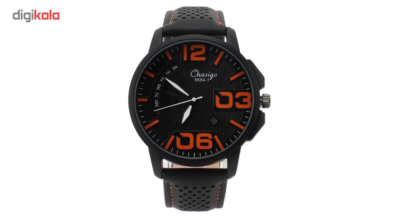 خرید ساعت مچی عقربه ای مردانه چاکسیگو مدل 4-8684