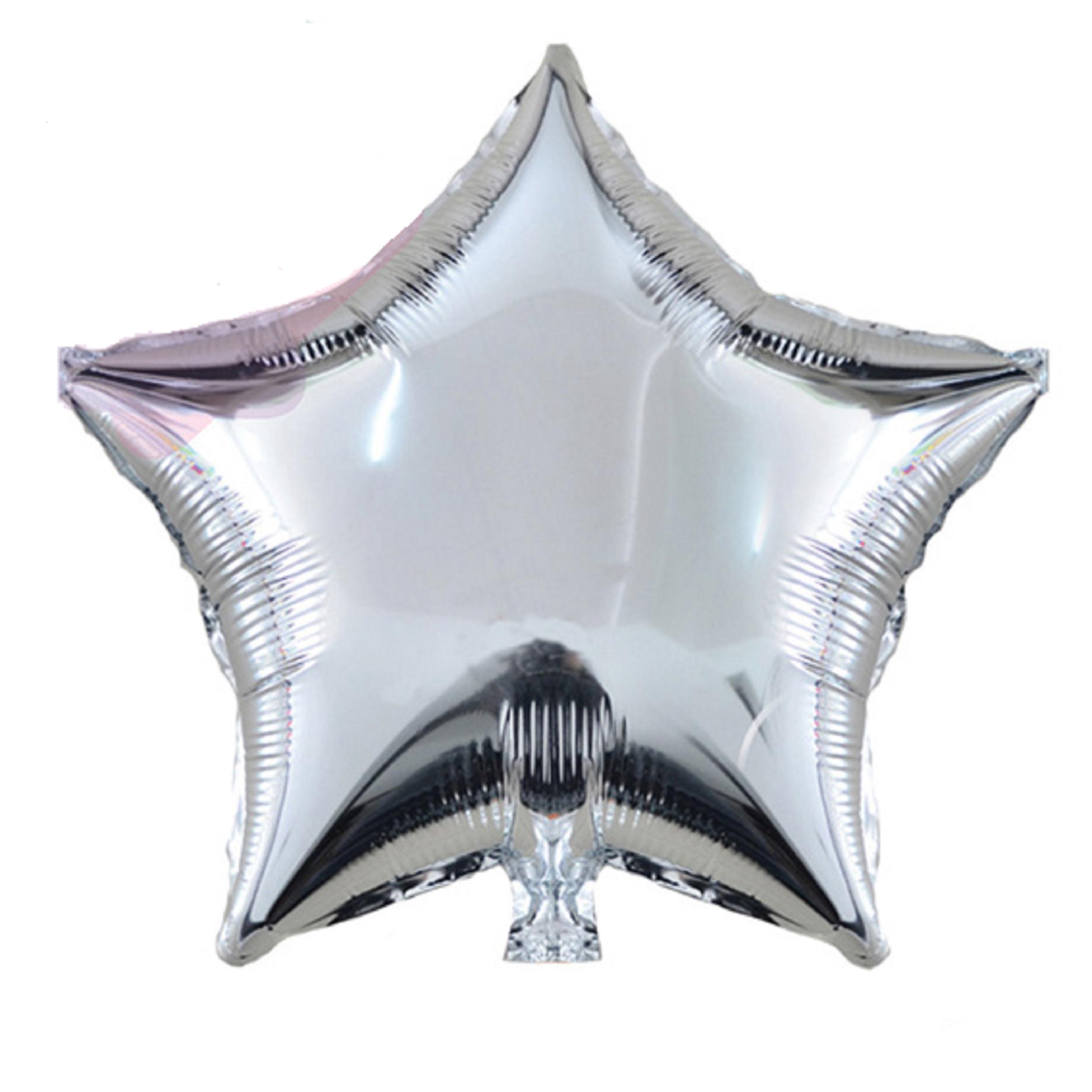 خرید                     بادکنک فویلی مدل ستاره سایز 150