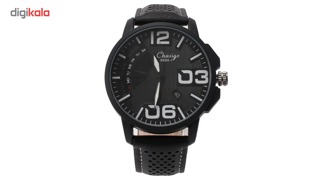 خرید ساعت مچی عقربه ای مردانه چاکسیگو مدل 1-8684