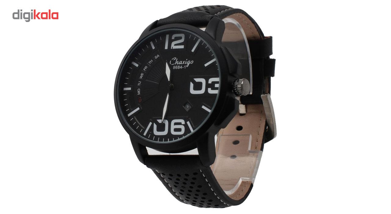 ساعت مچی عقربه ای مردانه چاکسیگو مدل 1-8684