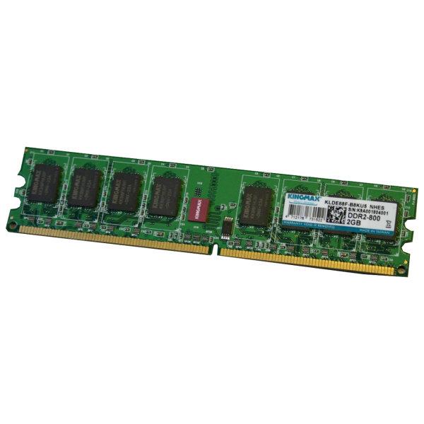رم دسکتاپ DDR2 تک کاناله 800 مگاهرتز کینگ مکس ظرفیت 2 گیگابایت