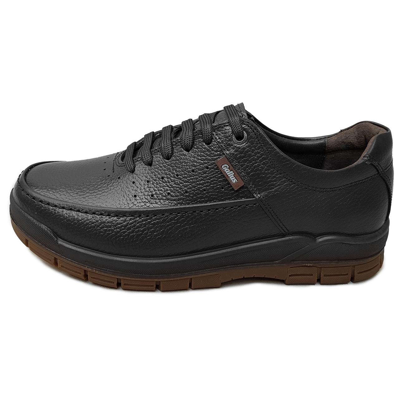 کفش مردانه چرم دیاکو مدل gallus-bandi-mesh