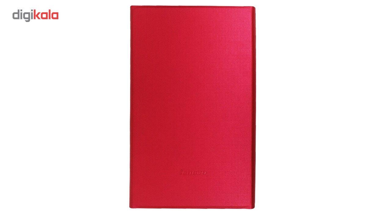 کیف کلاسوری مدل Book Cover مناسب برای تبلت لنوو Tab 4-8 main 1 9