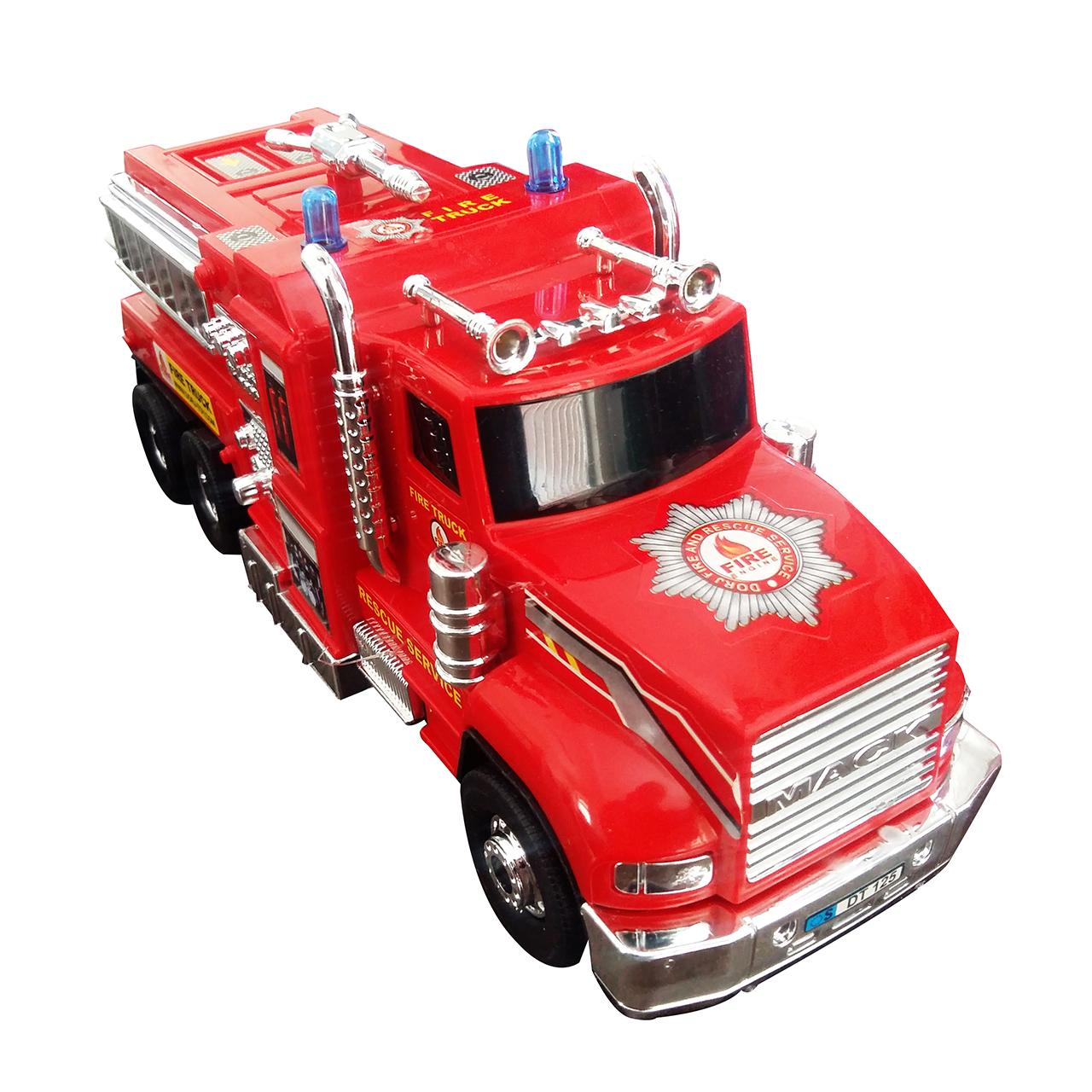 ماشین آتش نشانی قدرتی مدل DORJ TOY