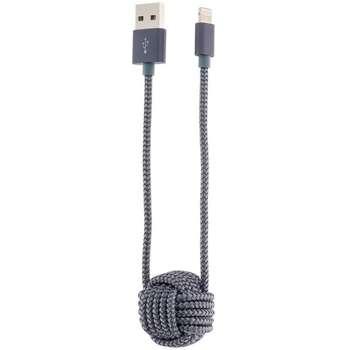 کابل تبدیل USB به لایتنینگ رسی مدل Ball به طول 1 متر