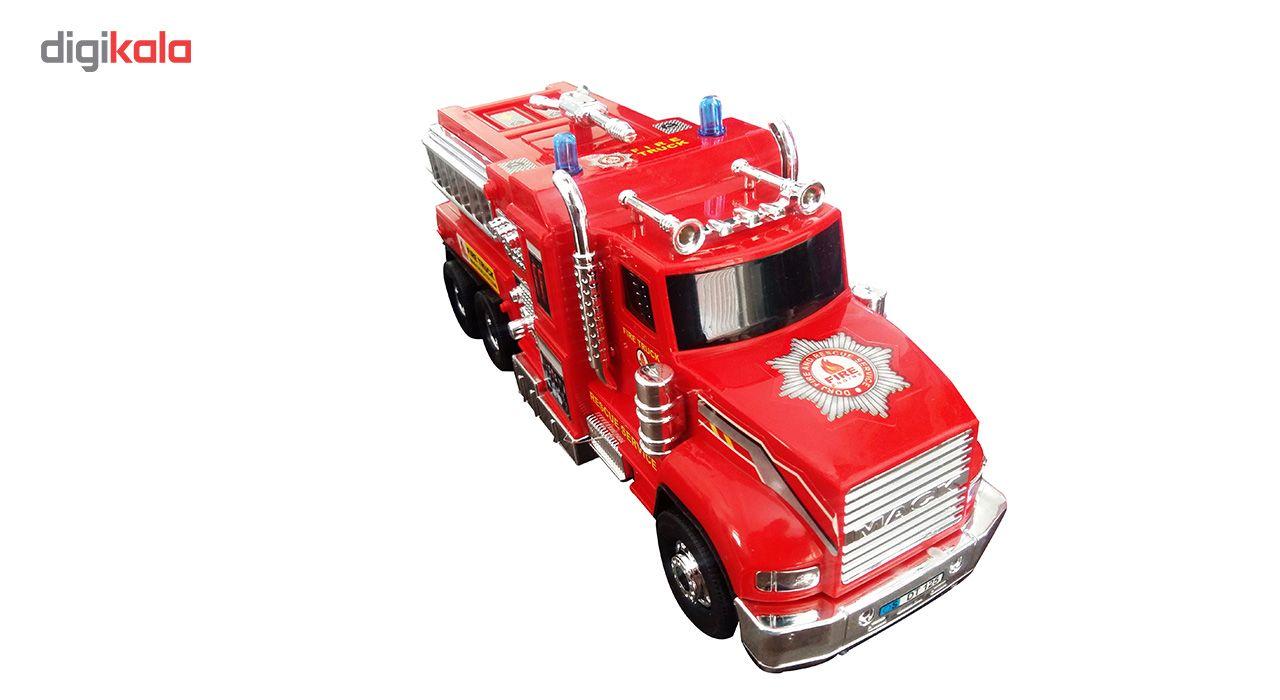 ماشین آتش نشانی قدرتی مدل DORJ TOY main 1 1