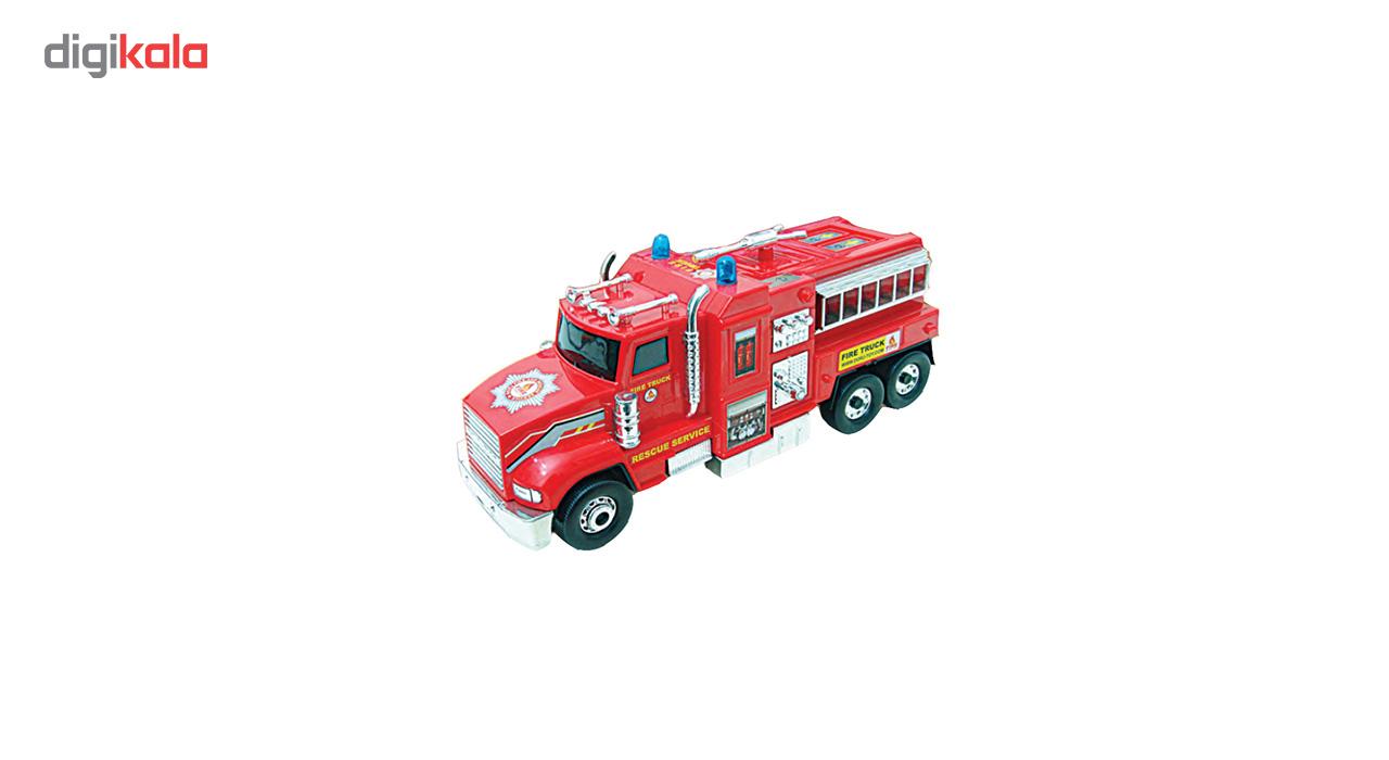 ماشین آتش نشانی قدرتی مدل DORJ TOY main 1 3