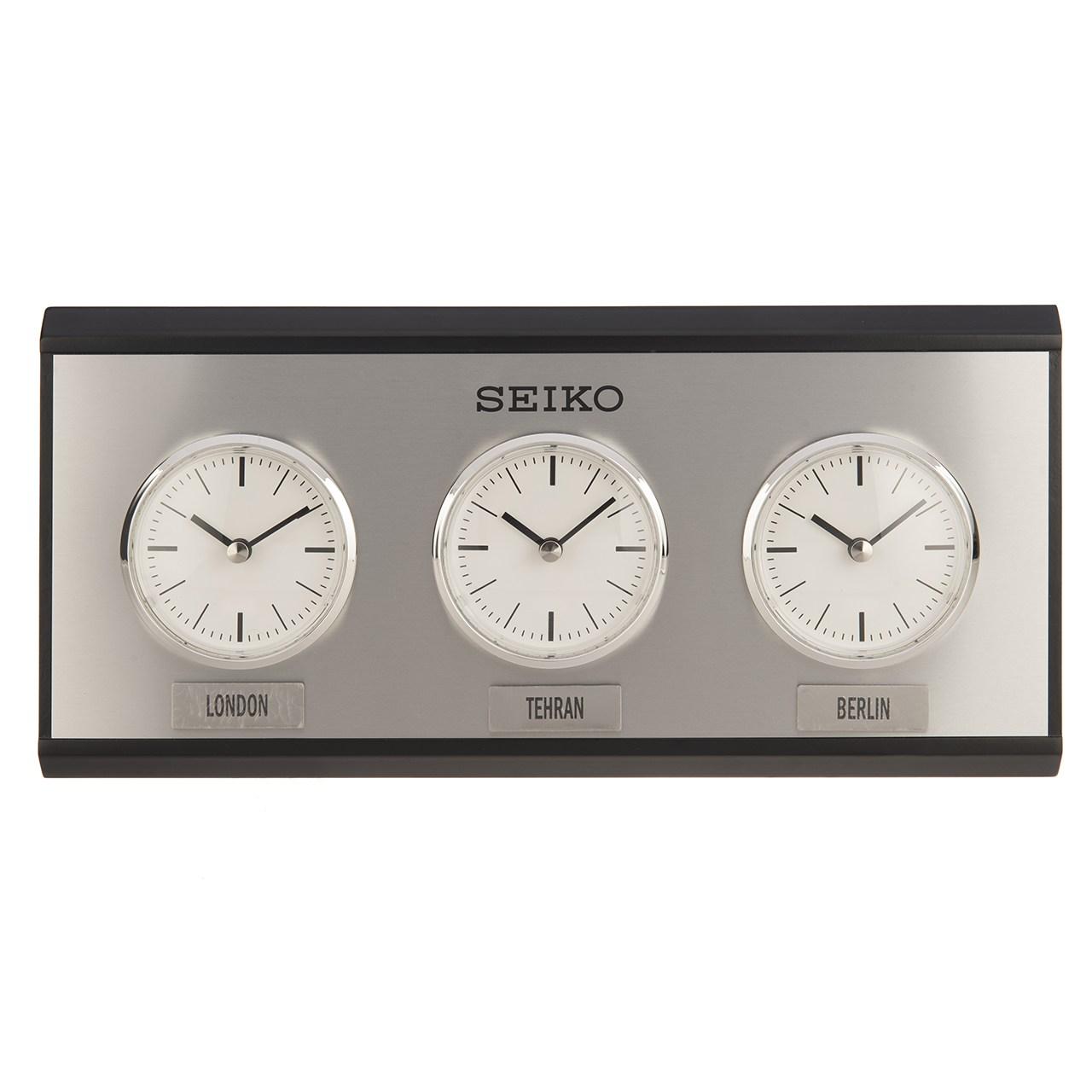 خرید ساعت رومیزی سیکو QXA623K | ساعت مچی