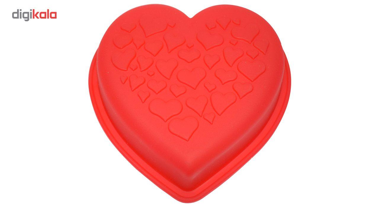 قالب ژله و کیک سیلیکونی طرح قلب main 1 1