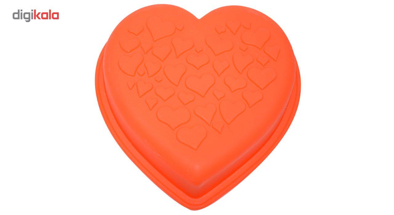 قالب ژله و کیک سیلیکونی طرح قلب main 1 2